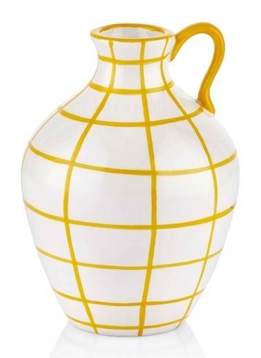The Mia Vazo - 16 Cm Sarı Sarı